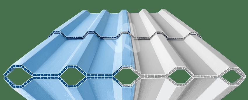 Tabel Ukuran Atap Alderon uPVC Per Lembar