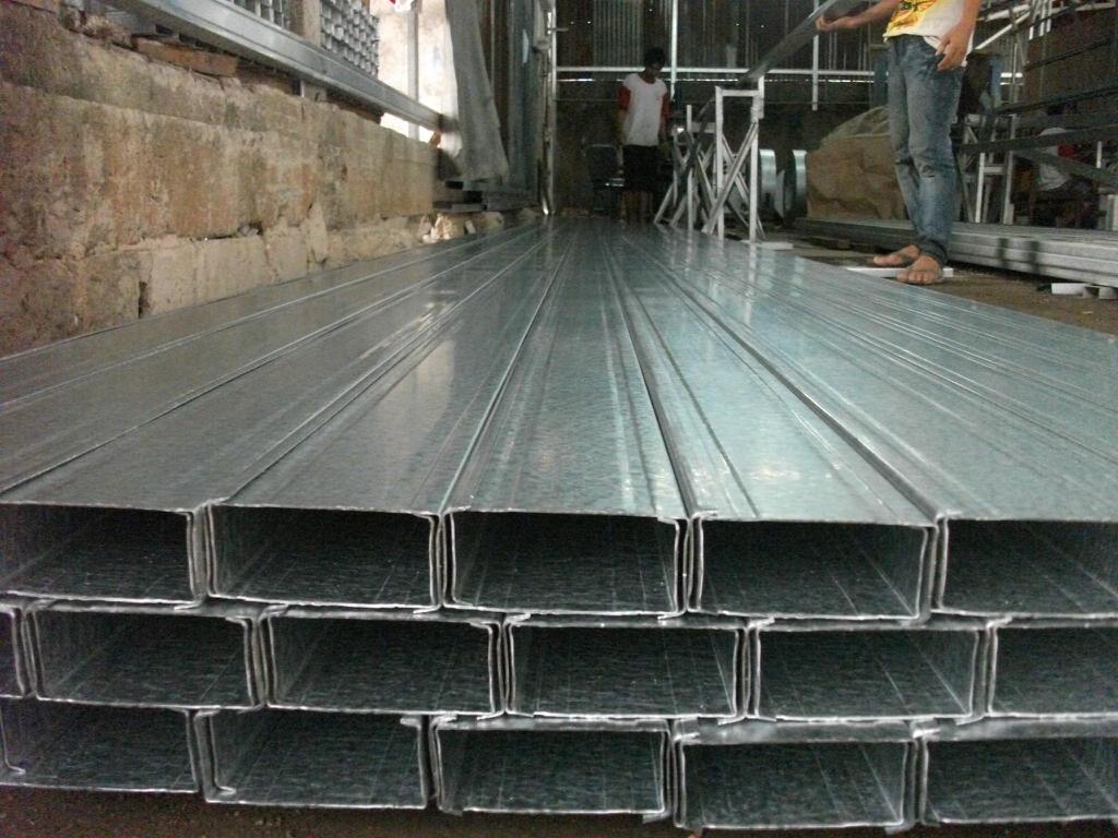 Harga Baja Ringan Canal C 0.50 mm Per batang